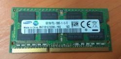 ОЗУ 8Гб 16Гб - 2х8 для ноутбука RAM Samsung 8GB 16GB - 2х8 SO-DIM DDR3L sod