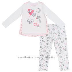 Пижамы Chicco для девочек р. 110, мальчиков р.122