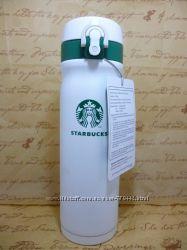 Стильный термос Starbucks White