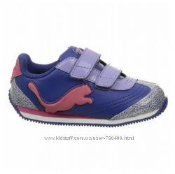 Puma оригинал Светящиеся кроссовки на липучках бренд из США 12см