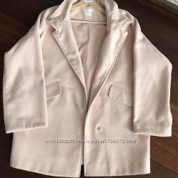 пудровое пальто промод как новое
