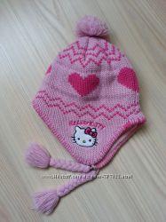 Зимняя шапка на флисе Hello Kitty от Suncity для девочки р. 50-52