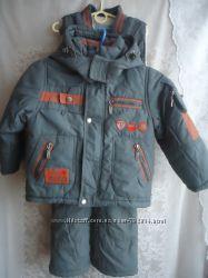 Куртка полукомбинезон  зимний тройка DOMIDO р 92