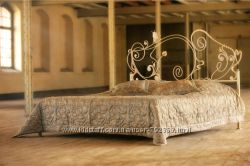 Кованые кровати собственного производства