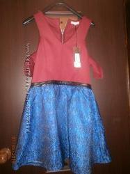 Продам крутое модное платье сарафан 44р