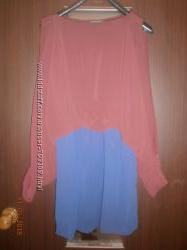 Продам крутое модное шифоновое платье 44-46р