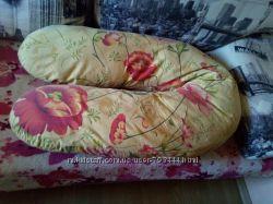 Подушка-обнимашка для беременной для сна