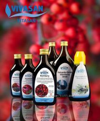 Акция  VIVASAN под -25 проц. Эфирные масла, Рыбий жир, Витамины Швейцария