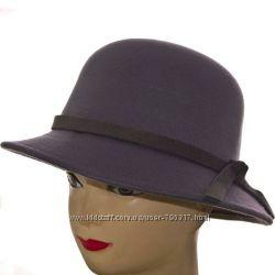 шляпа фетр в разных цветах и размере 56-58