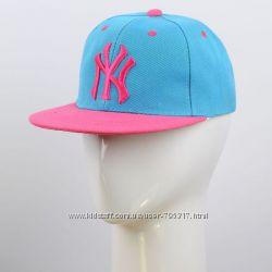 кепка с вышивкой NY в разных цветах