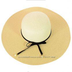 шляпа соломенная натуральная, большой выбор, разные цвета, размер 56-58