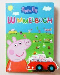 Детская книга Виммельбух Свинка Пеппа