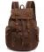 Рюкзак с кожаными вставками Young 0063