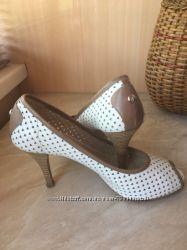 Туфли свадебные летние итальянские босоножки кожа натуральная 38 р