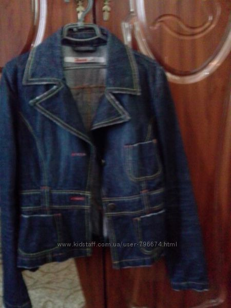 Джинсовый пиджак, куртка Only