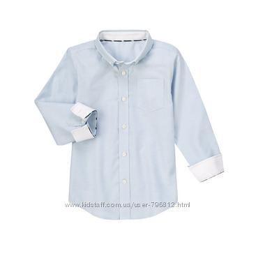 Рубашка Gymboree 7-8 лет 100  хлопок