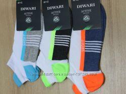Мужские спортивные ультракороткие носки DiWaRi