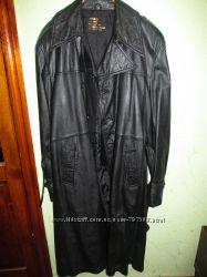 Кожанное пальто 56р