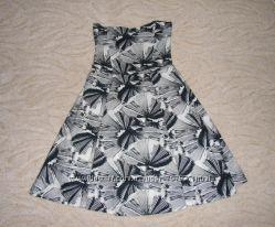 Платье-бюстье, натуральный хлопок