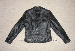 Кожаная куртка с меховой подстежкой