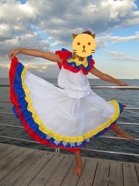 Костюм платье для испанских танцев рост 150 170