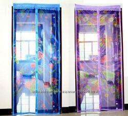 Антимоскитные магнитные сетки на двери