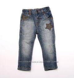 Стильные джинсы Next на мальчика 12-18 мес.