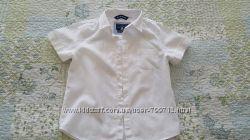 Стильная рубашка ORIGINAL MARINES на мальчика, в составе лен и хлопок