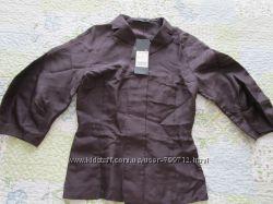 стильная блуза шелк баклажанный цвет Цена недели