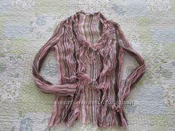e597c8912fa Полосатая тонкая блуза Цена снижена