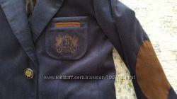 Стильный  универсальный  пиджак V. G. BOZER для мальчика хлопок