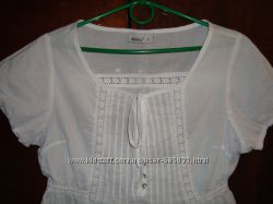 шикарная нежная блузочка с кружевными вставками