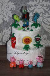 сахарные украшения для торта на разные темы из мастики