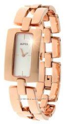 дизайнерские позолоченные часы Alfex Швейцария