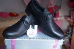 Туфли для мальчика, новые, черные, размеры 31, 36, 37