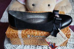 Туфли ортопедические кожаные для девочки новые чёрные р. 36, 37, 38, 39, 40