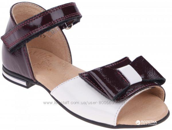Туфли босоножки кожаные для девочки новые нарядные Берегиня 31 32 33 34 35