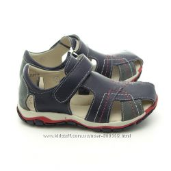 Босоножки, сандали кожаные для мальчика, ТМ Берегиня, р. 28, 29, 30, 31, 32