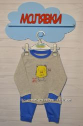 Мальчики. Пижамы английских брендов на 12-18 месяцев