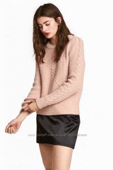 Теплый уютный свитер H&M