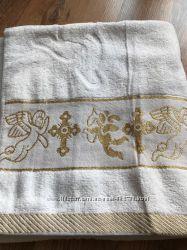 Крестильное полотенце Плед Крыжма Турция 100 процентов хлопок