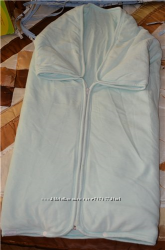 Одеяло конверт велюровое на синтепоне Bebetto