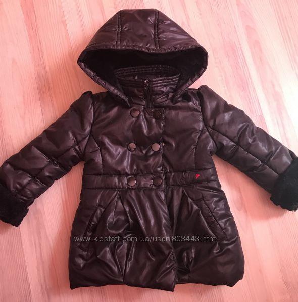 Пальто chicco в идеальном состоянии