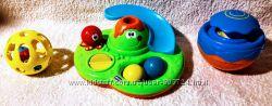 Игрушка для купания Остров мыльных пузырей, мячики Fisher price