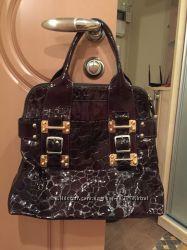Женская лакированая сумка