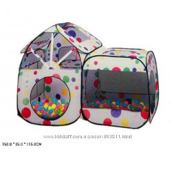 Палатка Волшебный домик  Размер палатки 15085115 шарики не входят, в сумк
