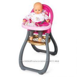 Игрушечный стульчик для кормления пупса 42 см Baby Nurse фирмы Smoby