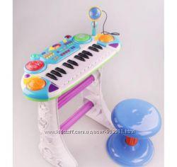 Пианино - синтезатор со стульчиком Joy Toy 7235