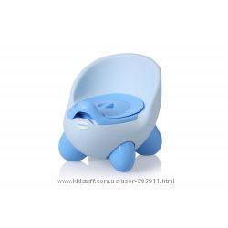 Горшок Babyhood BH-105 Кью Кью имеет литую спинку и подлокотники