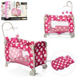 Манеж-кровать для куклы HAUCK i&acutecoo D-90644